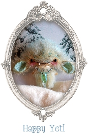 mohair collectible toy, yeti toy, pud muddle